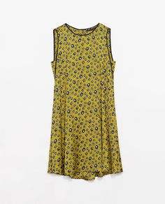Image 7 of PRINTED DRESS WITH BUTTONED BACK from Zara