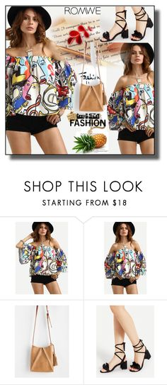 """""""//Romwe(summer style)set 10.//"""" by fahirade ❤ liked on Polyvore"""