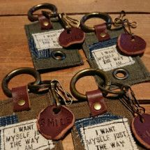 Small Leather Goods, Key Fobs, Creations, Leather Crafting, Garden Care, Personalized Items, Handmade, Crafts, Sewing