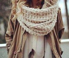scarf, a big one