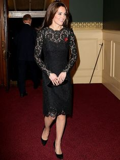 It's Official: Princess Kate's Favorite Frock Is a Black Lace Dress http://stylenews.peoplestylewatch.com/2015/11/07/princess-kate-black-lace-dress/