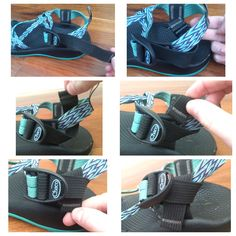 How to fix your long strap on your Chacos