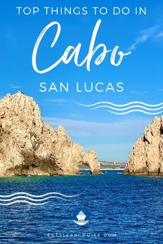 If you are planning your visit to this popular spot in the Mexican Riviera, we have put together our list of the Top Things to Do in Cabo San Lucas on a Cruise. #cruise #thingstodo #cruiseplanning #MexicanRiviera #Mexico #eatsleepcruise