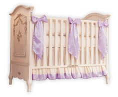 Lilac Crib Bedding