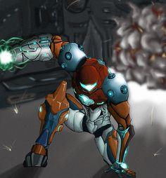 samus .metroid prime 3 by kerokerokola.deviantart.com on @deviantART