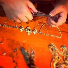 Jenna Lee Sai Jewellery - Jewelry making - headpiece - bohemian - Tribal <3