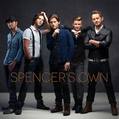 Lovin' Lyrics Music Promotions: SPENCER'S OWN REVEAL COVER ART AND TRACK LISTING F...
