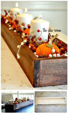 Build Your Own Wooden Box Centerpiece - 36 DIY Wooden Box Centerpiece Ideas (Full Tutorials) - DIY & Crafts