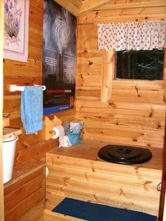 Choose from comfortable lakeside cottages, stylish villas, ski chalets and log cabins in Lapland. Outside Toilet, Outdoor Toilet, Outdoor Bathrooms, Rustic Bathrooms, Building An Outhouse, Outhouse Bathroom, Lakeside Cottage, Hunting Cabin, Composting Toilet