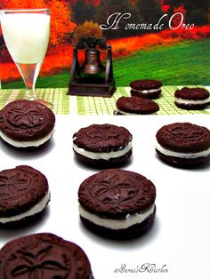 Homemade oreos, Homemade oreo cookies and Oreo on Pinterest