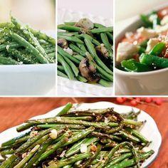 16 Different Green Bean Recipes for Thanksgiving Dinner