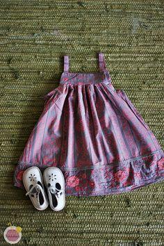 Summer dress from old skirt