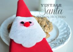 While helping my mom put up her Christmas decorations a month or so ago, I came across these vintage Santa napkin holders that we used to use as kids. Only two of the many we had survived the years, but I thought that this year it would be fun to re-create them with the kids...Read More »