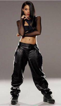 Aaliyah Haughton:Luv The 90's Style