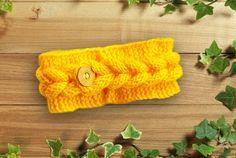 Knitting Headband Ear Warmer  Cable headband Fall от LoveKnittings