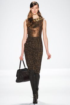 Badgley Mischka | Fall 2014 Ready-to-Wear Collection | Style.com