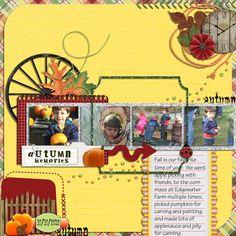 Autumn Memories - Scrapbook.com