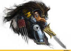 Warhammer 40000,warhammer40000, warhammer40k, warhammer 40k, ваха, сорокотысячник,фэндомы,Space Wolves,Space Marine,Adeptus Astartes,Imperium,Империум,Terminator Squad