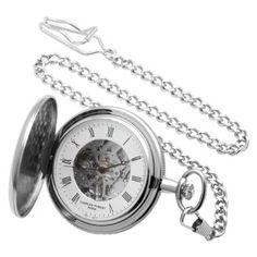 Charles-Hubert, Paris Mechanical Pocket Watch: Watches: Amazon.com