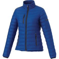 Women's Whistler Light Down Jacket TM99899 - With its lightweight and multi-pocket design, the Women's Whistler Light Down Jacket offers active people a versatile and stylish apparel solution. High-tech minimalism can go a long way outdoors, especially when it looks this good. This top features 100% nylon body construction, nylon/spandex knit binding and 80% down/20% feather fill. Great for promotional events, this top can be imprinted with your company name, logo or custom design…