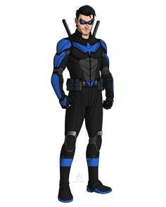 Dc Comics Heroes, Marvel Comics Art, Dc Comic Books, Comic Book Characters, Gi Joe, Spiderman Black Suit, Steel Dc Comics, Batman Redesign, Nightwing And Batgirl