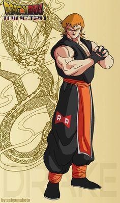 bueno aquí el primer diseño de personaje para mi fan manga de una continuación de dragon ball.... esta sera DRAGONBALL TAIKETZU...... aquí goku con su nueva vestimenta ..trate de recordar los inici...