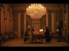 Too early for the Regency, but this has the same atmosphere : barry lyndon