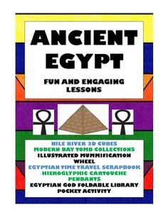 Ancient Egypt: 32 Pages of Fun and Engaging Activities and Projects
