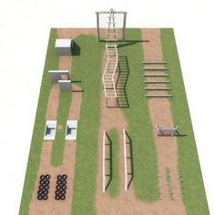 Obstacle Course Model available on Turbo Squid, the world's leading provider of digital models for visualization, films, television, and games. Playground Set, Backyard Playground, Backyard For Kids, Backyard Ideas, Backyard Games, Backyard Obstacle Course, Kids Obstacle Course, Parkour, Ninja Warrior Course