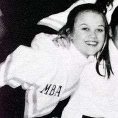 """Witherspoon attended the all-girl Harpeth Hall School in Nashville. The actress (in her senior-year cheerleading photo in 1994) was so academically minded that her pals nicknamed her Big Words. """"I was always more interested in studying than in boys,"""" she says. Upon graduation, she enrolled in prestigious Stanford University, but left after a year to pursue acting."""