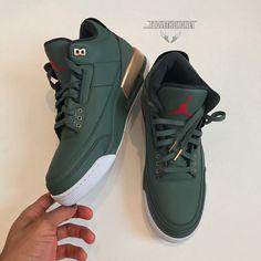 "61243687bd0d Jordan Winfield   abovethemoney Instagram Air Jordan 3 ""Champagne""  yooying  Air Jordan Shoes"