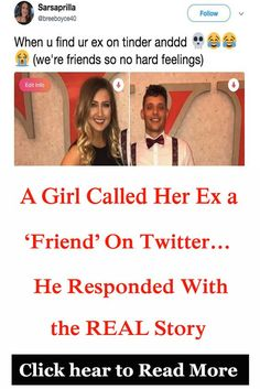 She saw their relationship one way. He was quick to fire back. What do YOU think of his response? Funny Memes, Hilarious, Jokes, Police Memes, Cut Her Hair, New Pins, Call Her, Cute Baby Animals, Children Photography