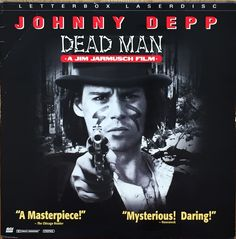 This movie and cover artwork are beyond quirky.  An amazing movie and great laserdisc cover artwork.#deadman #depp #artwork