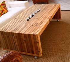 100-percent Reclaimed Cedar Coffee Tables