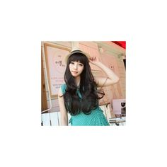 Long Wave Wig - High Quality Korean Women Fashion Clothing & Beauty... via Polyvore