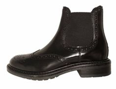 Italian wingtip chelsea boots for women, by Antica Cuoieria by Antica Cuoieria. Buy it 119,00 €