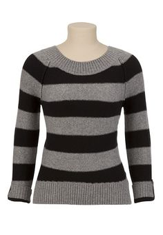 Striped Cozy Knit Sweater available at #Maurices