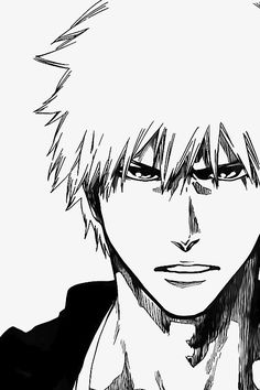 Kurosaki Ichigo 🍓 image by Mikasa_Rukia_Touka_Hatsune. Find more awesome illustration images on PicsArt. Bleach Manga, Ichigo Manga, Kon Bleach, Bleach Drawing, Manga Anime, Ichigo Y Rukia, Manga Drawing, Haikyuu Manga, Hero Manga