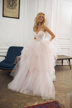 Smileven A Line Boho Wedding dresses 2020 Sweetheart Princess Bride dresses Elegant Vestido De Noiva Lace Beach Wedding Dress, Pink Wedding Dresses, Wedding Dress Train, Pink Bridesmaid Dresses, Wedding Gowns, Mermaid Wedding, Tulle Skirt Wedding Dress, Sikh Wedding, Tulle Skirts