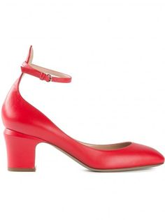 5292629e311 Ankle strap pumps tacco medio rosse Chaussures Valentino