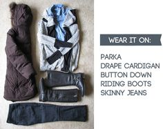 Seventeenth & Irving: TRAVEL LIGHT DURING THE WINTER - Capsule Wardrobe - Travel Tips - Packing