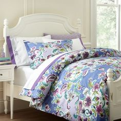 Love this duvet for color and style.