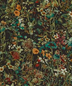 Liberty Art Fabrics Wild Flowers D Tana Lawn Cotton | Fabrics | Liberty.co.uk