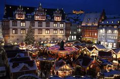 places i want to visit - Coburg, Germany at Christmastime