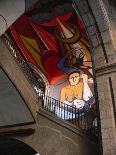 Sep. Mexico d.f.  ~ by Mexican Muralist, David Alfaros Siquieros http://www.flickr.com/photos/fcv/54475350/in/photostream