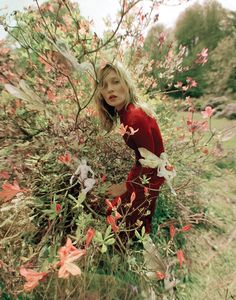 Made in Britain: Edie Campbell, Matilda Lowther and Kate Moss work their magic for LOVE Magazine, captured by fashion wizard Tim Walker, naturally: on NOWNESS