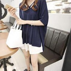 Buy 'DAILY LOOK – V-Neck Dip-Back Knit Top' with Free International Shipping at YesStyle.com. Browse and shop for thousands of Asian fashion items from South Korea and more!