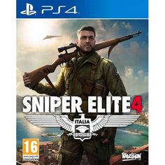 Sniper Elite 4 PS4 Game | http://gamesactions.com shares #new #latest #videogames #games for #pc #psp #ps3 #wii #xbox #nintendo #3ds