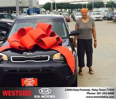 https://flic.kr/p/J6pehf | Happy Anniversary to Margaret on your #Kia #Soul from Nick Guzak at Westside Kia! | deliverymaxx.com/DealerReviews.aspx?DealerCode=WSJL