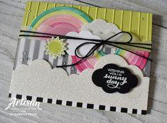 Sunshine and Rainbows Stamp Set, Rainbow Builders Framelits, Stampin' Up!